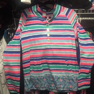 Lilly Pulitzer NWT L popover / pullover